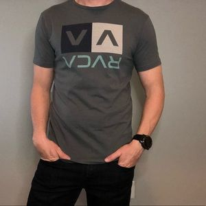 Gray RVCA T-shirt